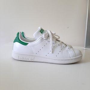 Adidas Stan Smith White/Green Sneakers